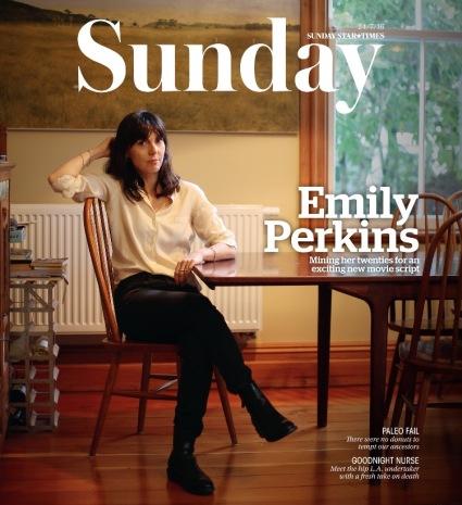 Emily Perkins Sunday Mag